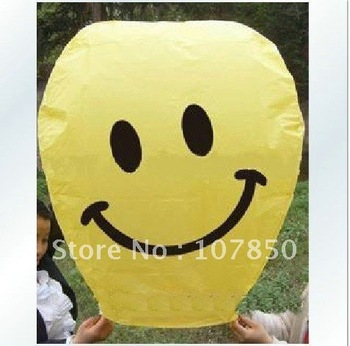 free shipping 26 piece Sky Lantern Valentine/B-day Party Paper Wish Balloon newest