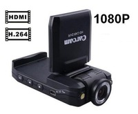 "Автомобильный видеорегистратор H198 Car Camera 6 IR LED Car video recorder for night vision Car DVR with 2.5"" Screen 120 degree angle and AV OUT"