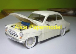 [Alice papermodel] Long 25CM 1:18 Skoda Spartak classic cars antique carmodels sedan models vintage car models vehicle models(China (Mainland))