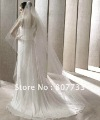 Free shipping cost!!! V005 2011 beaded and sequins tulle wedding veils