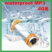 New 4GB Waterproof sport MP3 Player Water proof