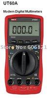 free shipping new 100% UT60A Modern Digital Multimeters /Handheld Digital Multimeters