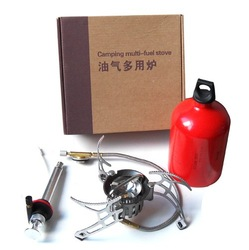 free shipping camping multi fuel stove kerosens stove 1000ml fuel bottle(China (Mainland))