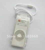Free shipping- Crystal case for MP3 Player