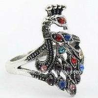 Promotion peacock ring 12pcs/lot free-shipping