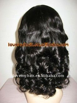 Fashion designed lady's brazilian  full lace wig