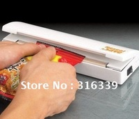 Free Shipping,Reseal Save Portable Plastic Sealer Reseal Save Airtight Plastic Bag Preserve Food As Seen On TV,1pc
