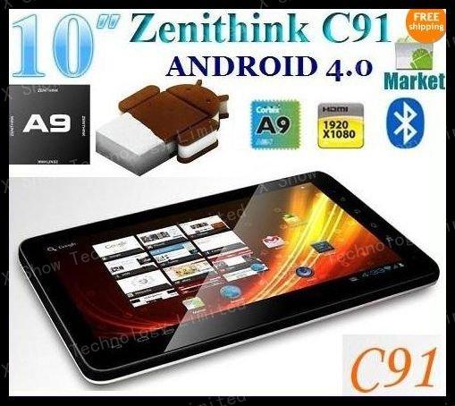 10 Zenithink Google Android 4.00