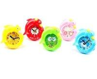 Free shipping 6pcs/lot lovely dolphin desk alarm clock/ christmas gift for children