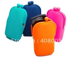 2011 New arrival 50pcs/lot pouch bag + free shipping(China (Mainland))