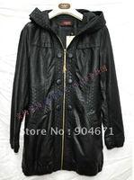 #8 Fashion long washed leather leather