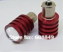 50piece/lot 1156/Ba15s CREE Q5 5W High power Led Car Reverse Light +free shipping(China (Mainland))