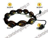 religious saint bracelet/shamballa bracelet
