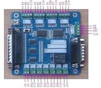 5 axis KCAM4 MACH3 EMC2 CNC Breakout board interface Adapter board KS2029
