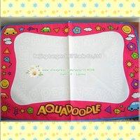 Freeship 3color8 piece Mat+ 8Pen Big size 80*56 &75*75cm American Aquadoodle Doodle Mat&1 Magic Pen/Water Drawing Replacement