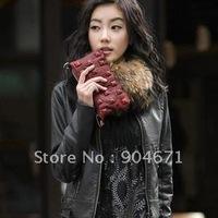 Korean stand-collar Slim small leather jacket jacket