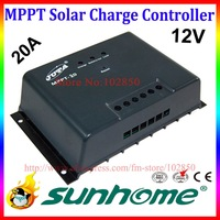 12V,20A MPPT solar charge controller,CE RoHS,Solar charge regulator,solar panel charge controller