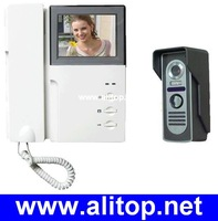 3.5 inch TFT LCD Display 380 lines color video door phone 3.5 inch intercom system