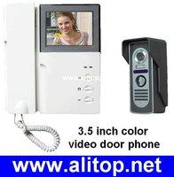 3.5 inch intercom system TFT color LCD Display 380 lines color video door phone