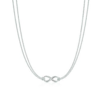 Wholesale 925 Sterling Silver Infinity Necklace,Special Designer Ture Love Necklace,New Fashion Necklace For Women,A Jofyul Gift