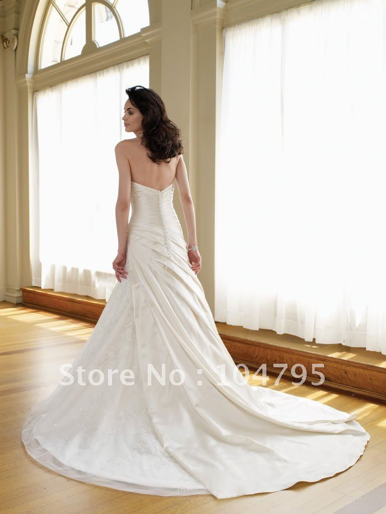 The Most Stylish Wedding Dresses : Stylish the most beautiful wedding dresses mermaid tulle dress