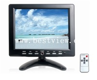 "8"" CCTV TFT monitor  with AV/BNC/Audio Input"