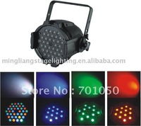 36 pcs par 64 led& free shipping
