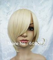 APH Axis Powers Hetalia Norway Cosplay Costume Wig cosplay wigs short blonde wig