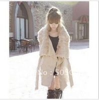 Женская куртка Price Faux Fur Lining Women's Fur Coats, Winter Warm Long Coat Jacket Clothes A