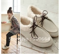 Free shipping 2011 new fall the woman sexy fashion comfortable bowknot leisure single shoes