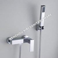 single handle bathroom shower faucet brass chrome shower set shower hand RJ-S106-1
