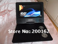 7.5 INCH Best Selling TFT LCD Portable DVD Player   DHL.EMS.FedEx