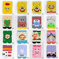 super deal for christmas- wholesale Cotton AB cartoon sock