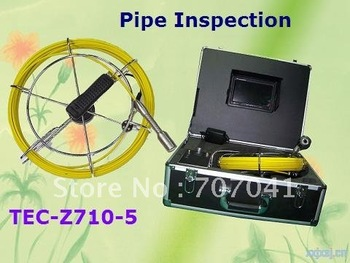 Tube Pipe Camera ,Drain Inspection TEC-Z710-5