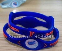 Hot selling gifts! Florida State University/Alligators Team/Energy bracelet 100pcs/lot free shipping by DHL