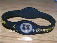 Hot selling gifts! University of Missouri/Tigers team/Energy balance silicone bracelet 100pcs/lot free shipping by DHL