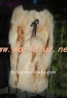 BY-LW-001 Fox Fur Leg Warmer