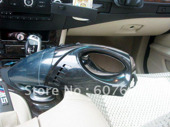 Portable Car 12 VAC Vacuum Dust Collector Cleaner Black