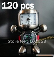 New Style Lovely Fashion Jewellery Classic Retro Robot Necklace Compass Watch Wholesale Lots OF 120 XMAS GIFT