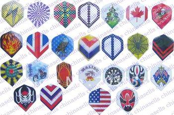electronic dart flag flights material Imports PET