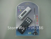 freeshipping wholesale TV stick D87 USB 2.0 TV BOX ISDB-T digital TV HDTV tuner stick remote on pc or laptop