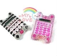 Plastic cute pocket calculator