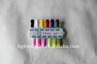 Wholesale free shipping Nail LED UV Gel LK-GEL-7 ,Nail polish(LED UV Color gel)