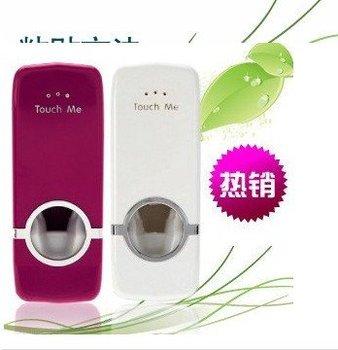 New Automatic Toothpaste Dispenser&Brush holder set