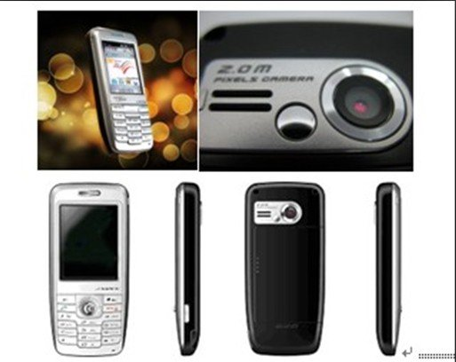 Dual Mode GSM/WiFi VoIP SIP Smart Mobile Phone with 2.0million pixel camera(China (Mainland))
