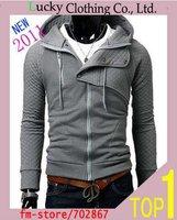 Одежда и Аксессуары Men Coat Fashion Korean Fur Collar Short Slim Edition Jacket N7