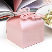 HOT PRODUCTS Free shipping to All Country! 250pcs/lot paper box sweet box chocolate box FL454-pink