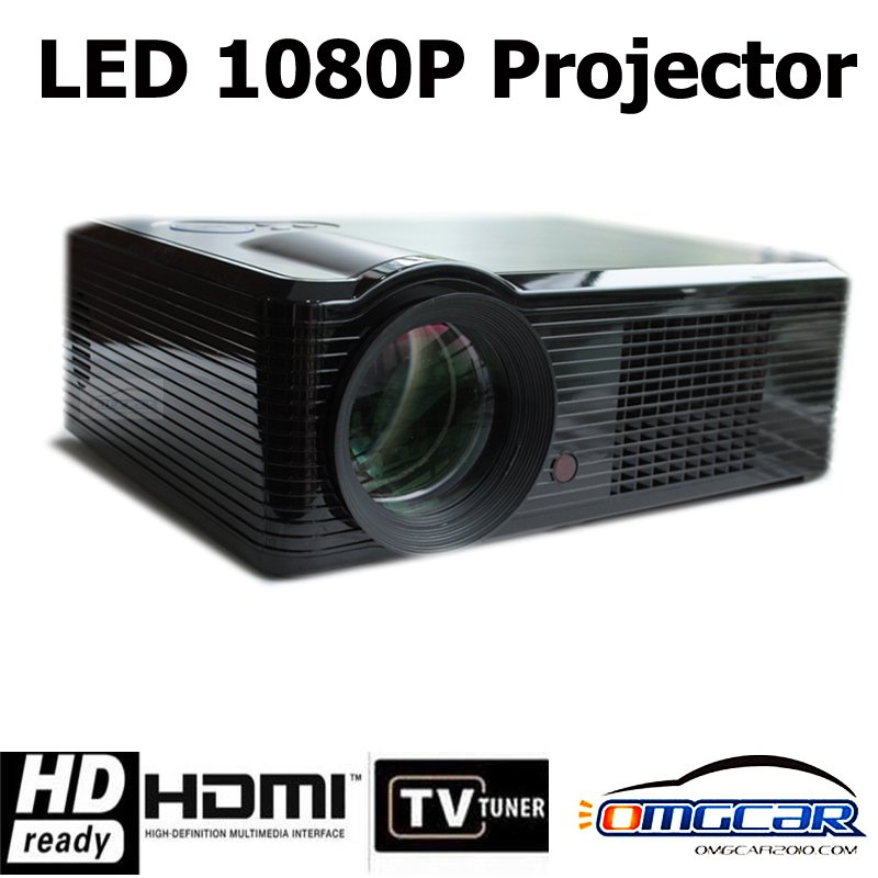 "Mini Projector,mini LED Projector, AV Digital  w/USB, SD Card Slot & Speaker - 17"" - 60"" Display OMGCAR Factory Free Shipping"