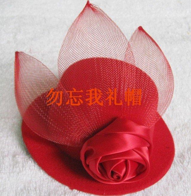 Wholesale 6pcs/lot performance fascinator hat,feather fascinator veil,fancy fascinator,Halloween/Christmas party fascinators(China (Mainland))