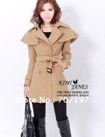 2012 free shipping elastic denim lady's blazer uterwear long-sleeve women's jacket